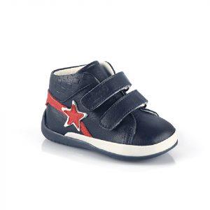 Кожаные кроссовки