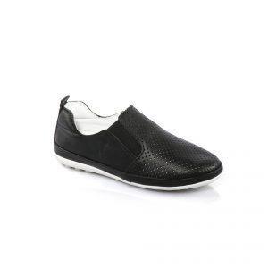 Кожаная летняя обувь