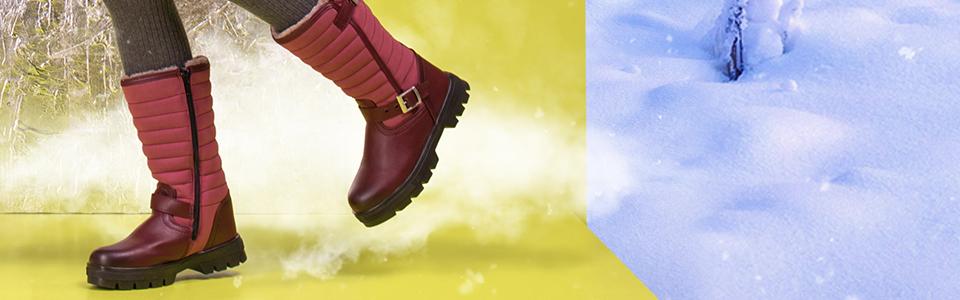 Зима. Модели обуви созданные для детей