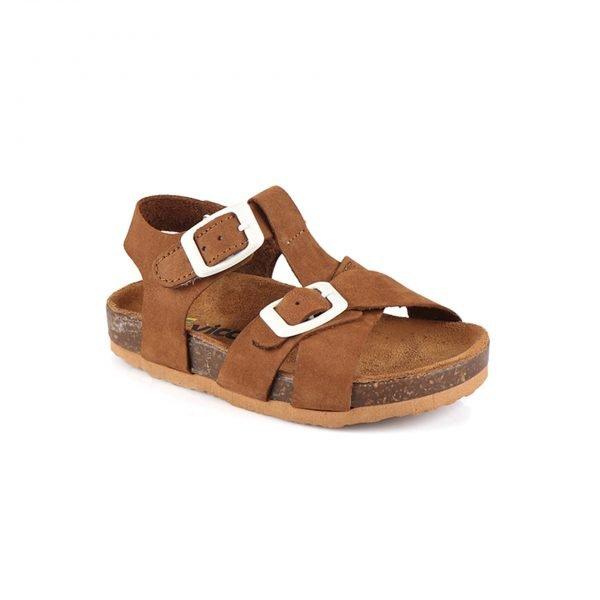 Замшевые сандалии Sedna