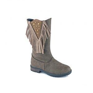 Кожаные ботинки Softy