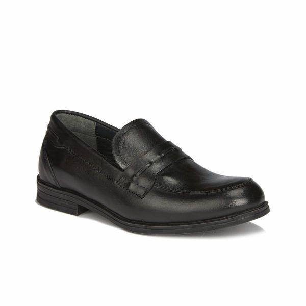 Школьная кожаная обувь Smith